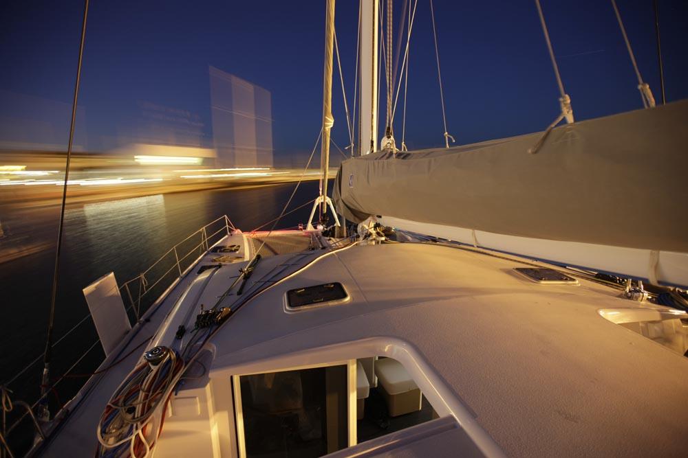 Outremer 51 Catamaran profile sail blur.jpg