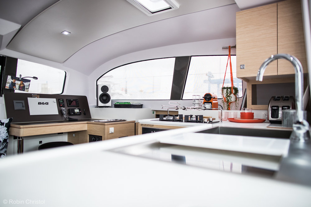 Outremer 45 catamaran galley.jpg