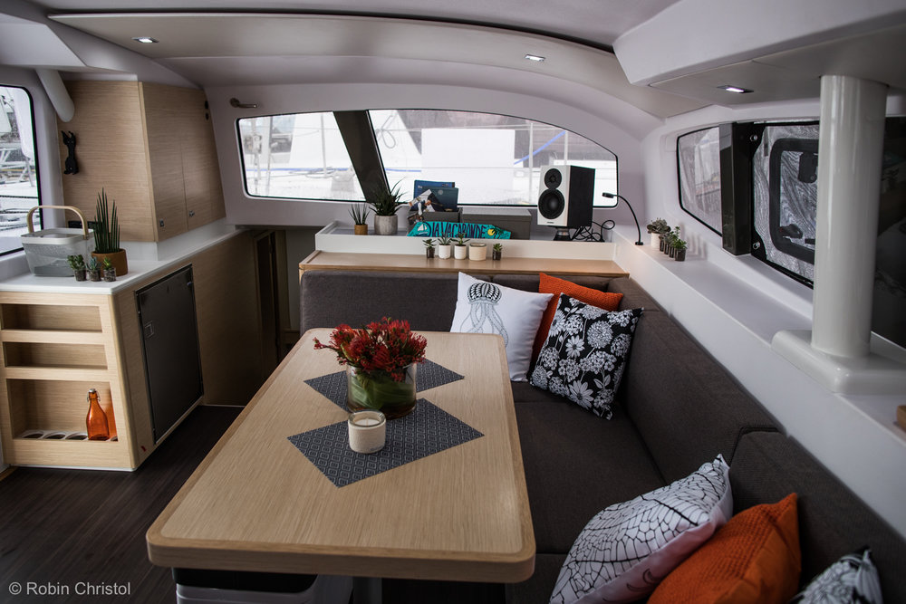 Outremer 45 catamaran interior seating port.jpg