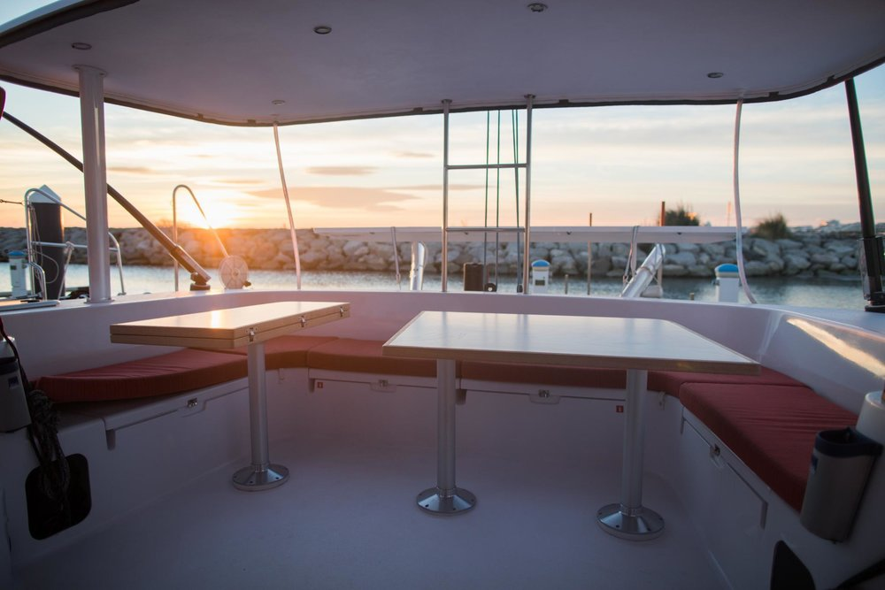 Outremer 51 Aft table.jpg