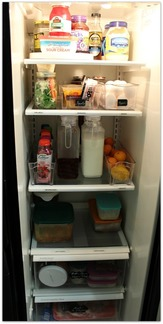 Simple tips on how to organize the refrigerator | www.JadoreLeDecor.com