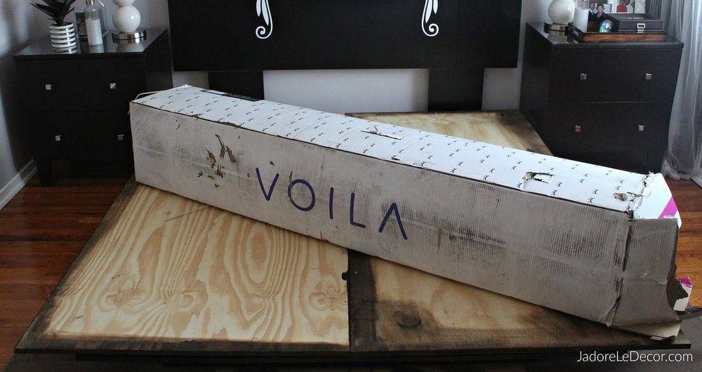 www.JadoreLeDecor | Resolve to Sleep Better in 2018 with Voila Hybrid Mattress | Mattress review| Small bedroom | Small space living