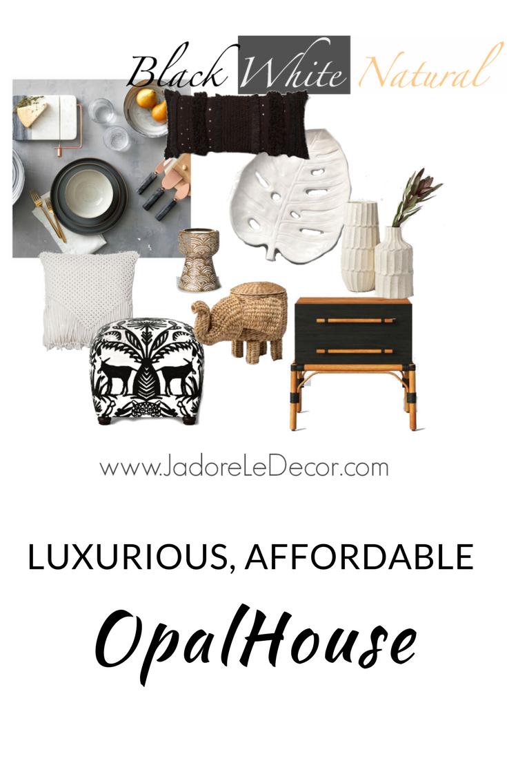 www.JadoreLeDecor.com | A review and sampling of of Target's new line of home goods - OpalHouse