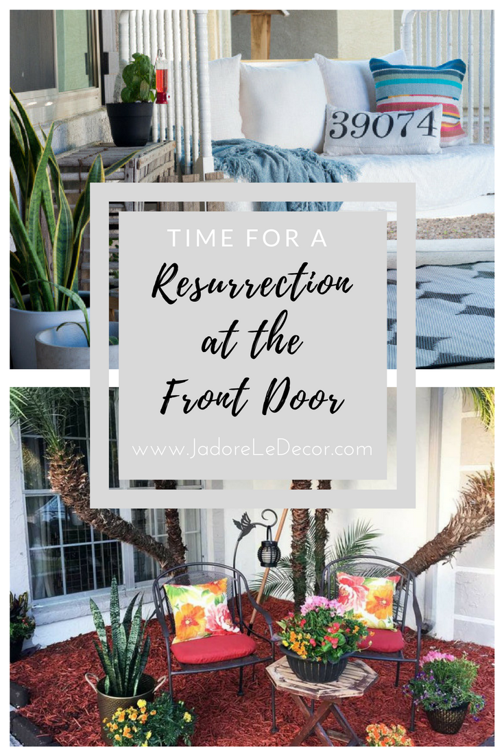 www.JadoreLeDecor.com | Let those dull-n-dirty outdoor spaces be brought back to life. Yes! Let them be... resurrected! Here are a few ideas on how. | Whole House Organization Challenge | Outdoor Spaces | Outdoor Organization