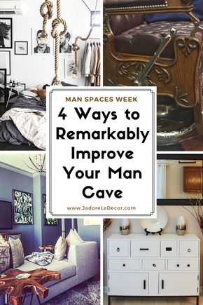 www.JadoreLeDecor.com | We round up this Man Spaces series with a simple point-list of lessons gleaned from each post this week which you can use to add touches of refined masculinity to your home or lifestyle.   | Masculine Interiors | Special blog series