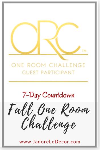 www.JadoreLeDecor.com | One Room Challenge 2017