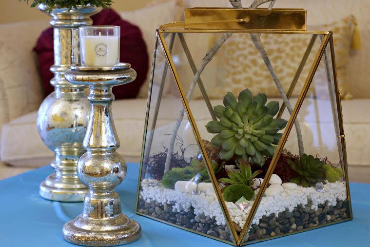 www.JadoreLeDecor.com | Glade Atmosphere Collection Fine Home Fragrance | How to Make a Stunning Terrarium | DIY | Plants | Easy Crafts