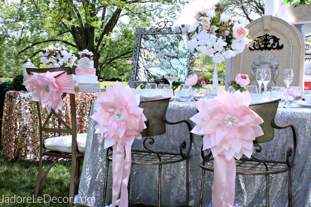 www.JadoreLeDecor.com | This inspiration reception is for all those brides who just can't get enough of the color pink. #thisthingwithpink #pinkbride | Wedding Color Schemes