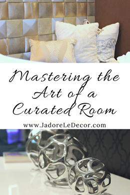 www.JadoreLeDecor.com | This 260 square foot multi-purpose room is the perfect example of a carefully curated room. | Small Space Living