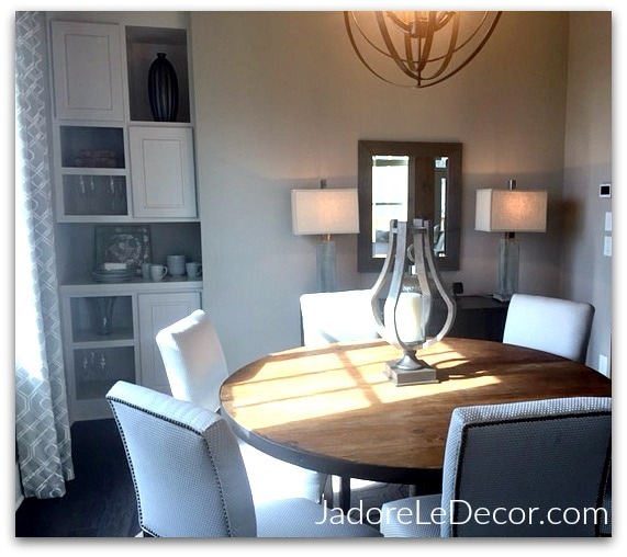 www.JadoreLeDecor.com | Steal tips from large-scale models homes for your small space. | Model Home Tours | Design Inspiration