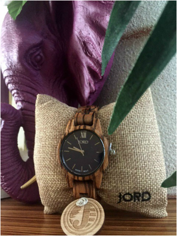 www.JadoreleDecor.com | A review of an awesome and cool new wood watch by JORD. | Men's and Women's Watches | Modern Jewelry