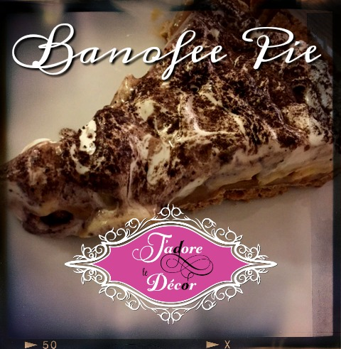 www.JadoreleDecor.com | Banofee Pie