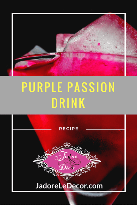 www.JadoreLeDecor.com | An awesome drink to be shared in good company. | Alcoholic Beverage