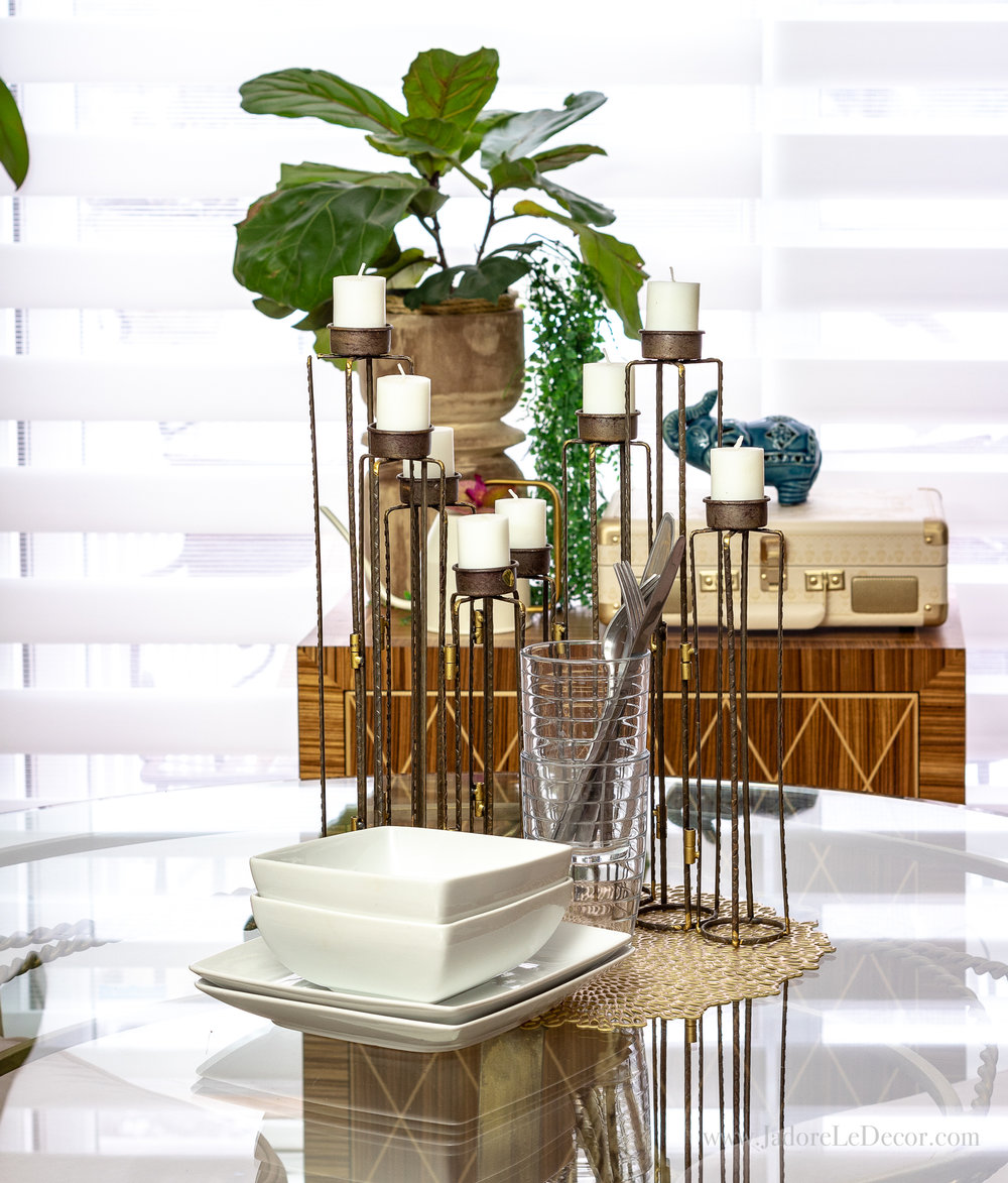www.JadoreleDecor.com   Follow this simple organization process to reclaim your dining room   Small dining room organization   #wholehouseorganization #smallspaceorganization #diningroomorganization