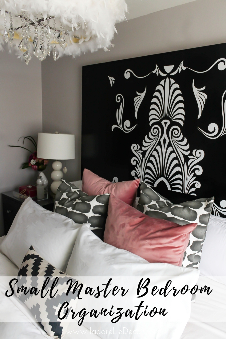 www.jadoreledecor.com | Small Master Bedroom Organization What You Need to Know| Best tips for small master bedroom organization #bohemian #bohodecor #eclectic #globalbohemianchic #bohomodern #bohochic #bohoglam #globalbohemian #globalglambohemian #colorfulboho #smallmasterbedroomorganization #smallbedroom #masterbedroom #organization