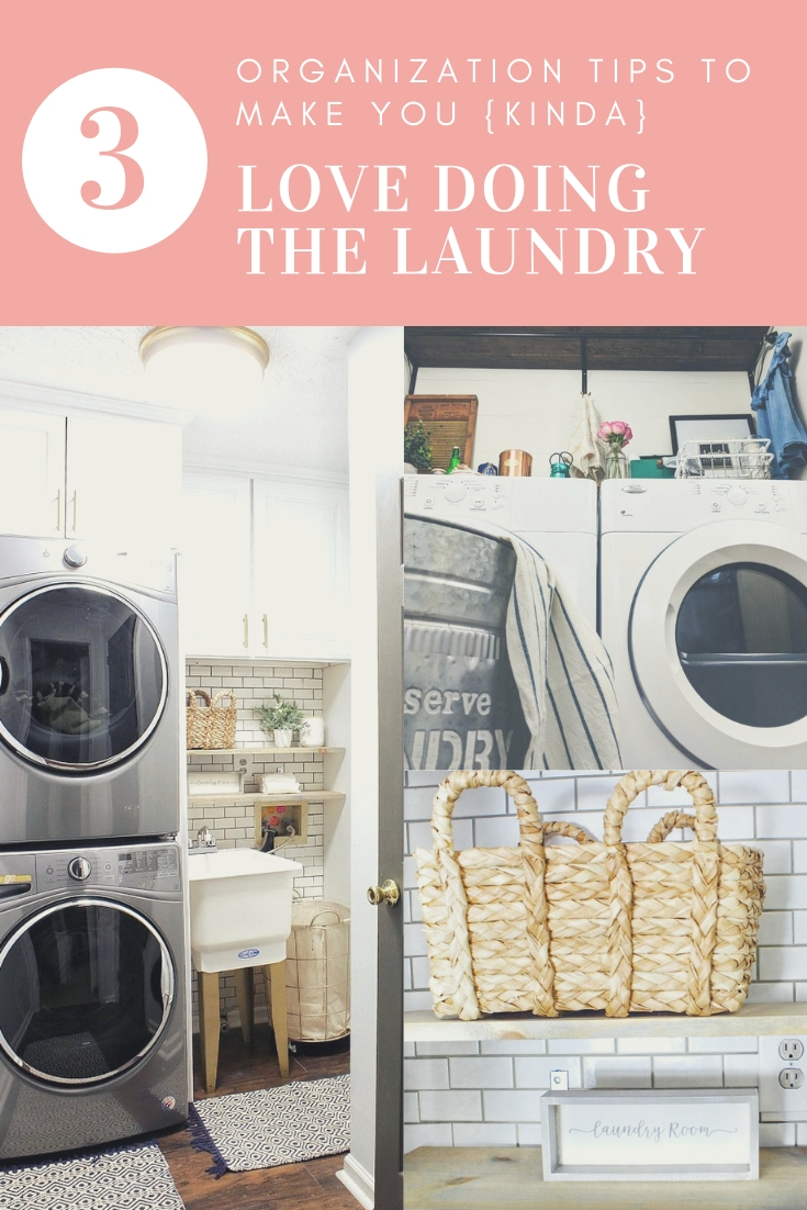jadoreledecor.com | Organization Tips to Make You Kinda Love Laundry Day | Small home living | Small laundry room revamp and organization.  | Creating a function laundry room space through proper planning and practical customization.