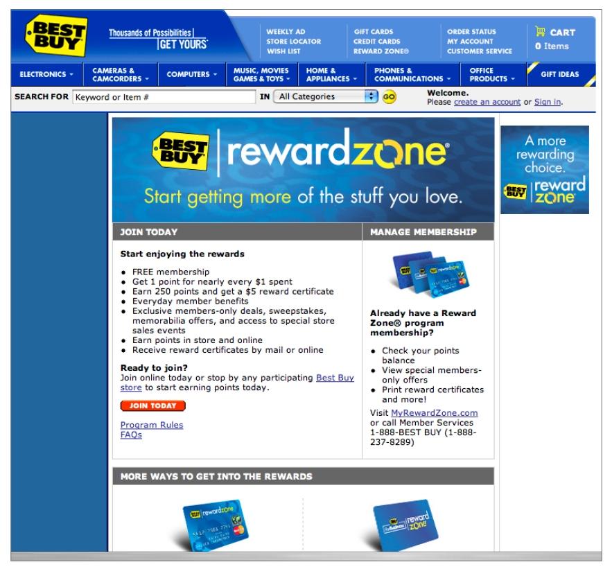 Best Buy Rewards Program — MJ LARSON