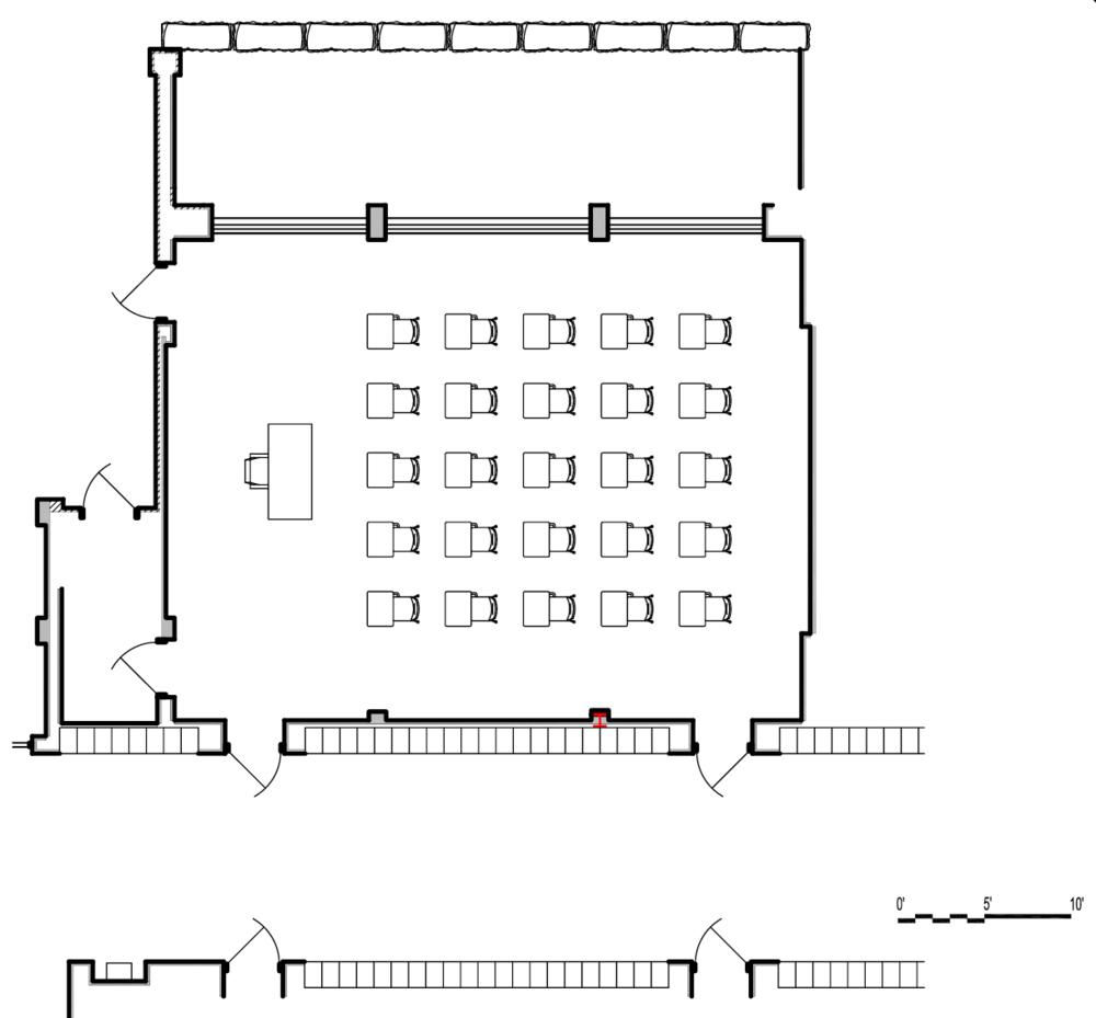 Capital Arts Set, English Classroom Director's Plan