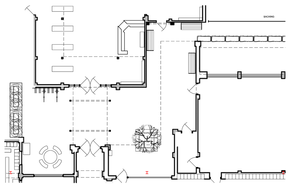 Capital Arts Set, High School Courtyard Director's Plan