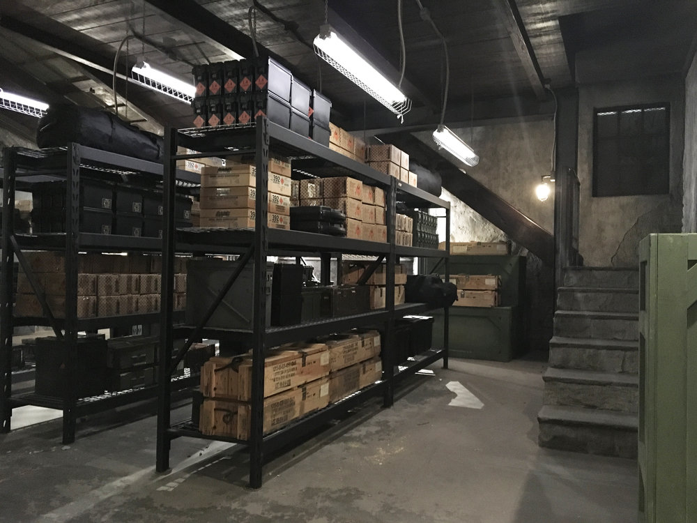Capital Arts Set, Armory Weapons Room