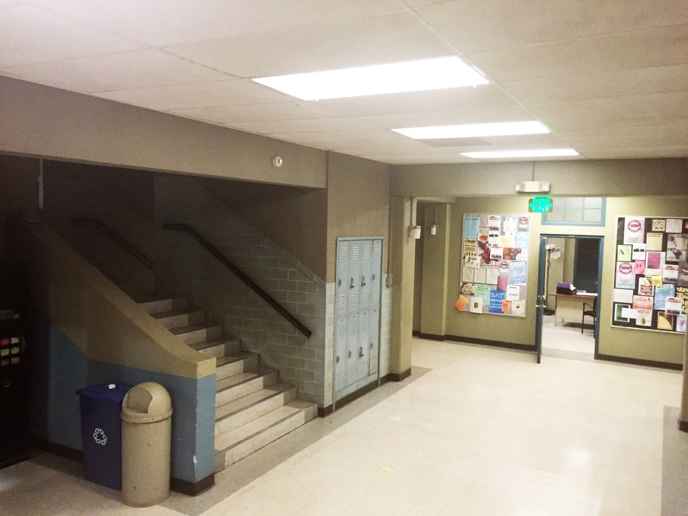 Capital Arts Set, High School Corridor