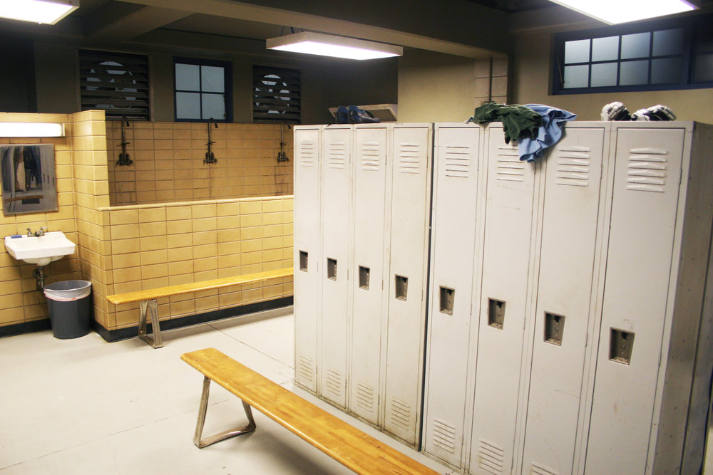 Capital Arts Set, High School Boy's Locker Room