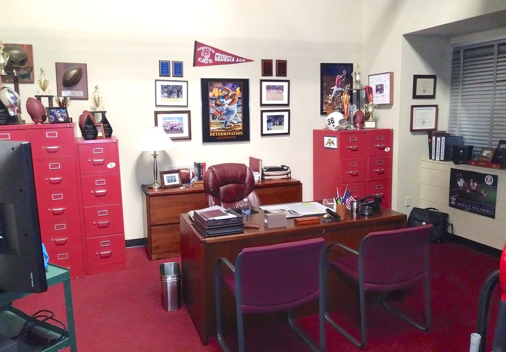 TEACHER/COACH'S OFFICE - _____________________________
