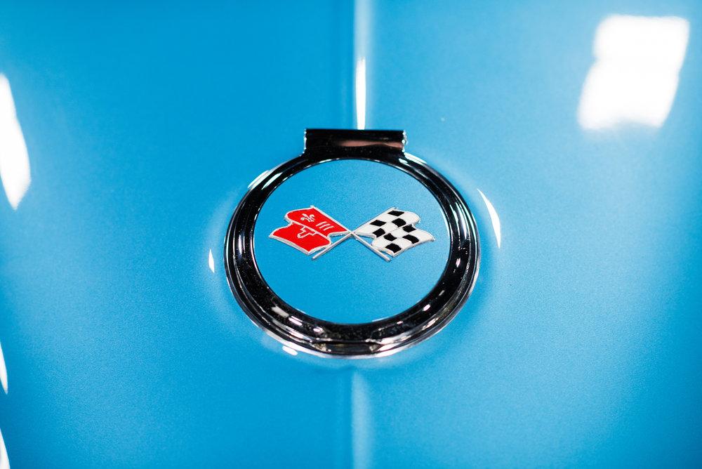 1967 Corvette Gas Cap Emblem