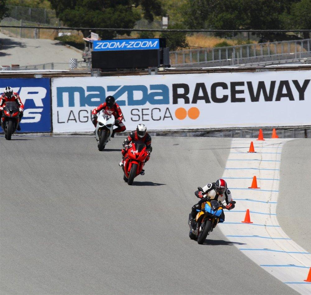 LAGUNA SECA MOTORCYCLE TRACK DAYS
