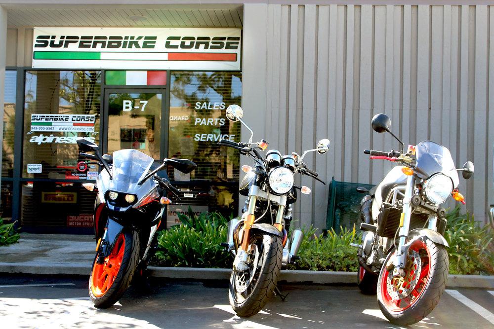 Superbike Corse Orange county