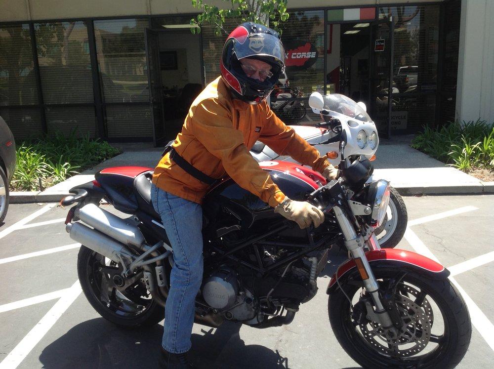 JODY NICHOLAS MOTORCYCLE RACER