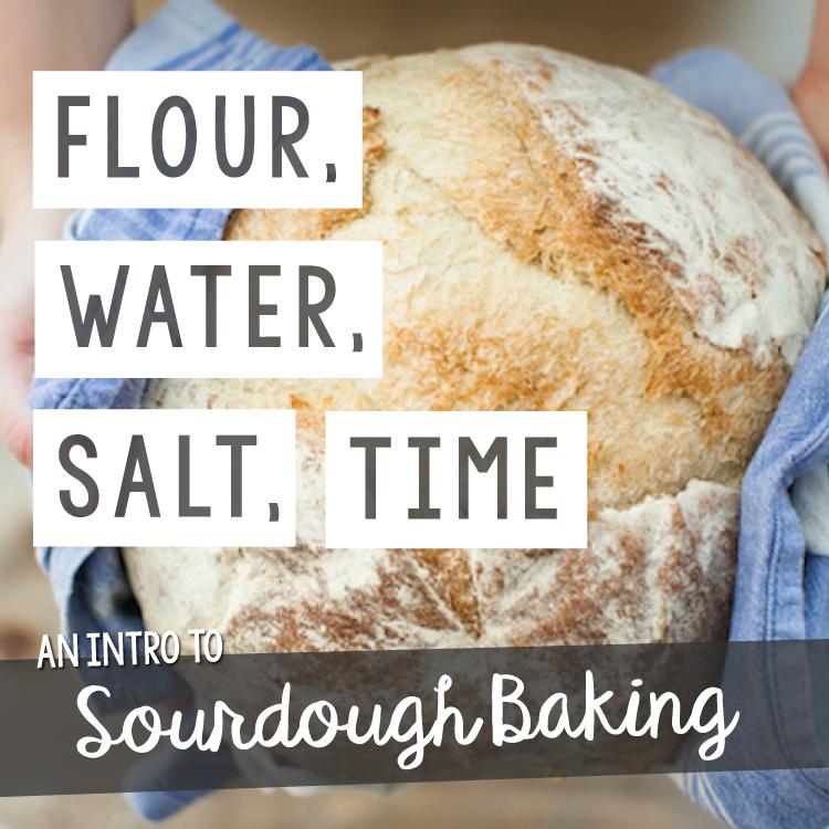 Flour Water Salt Time An Introduction To Sourdough Baking Finca Tres Robles