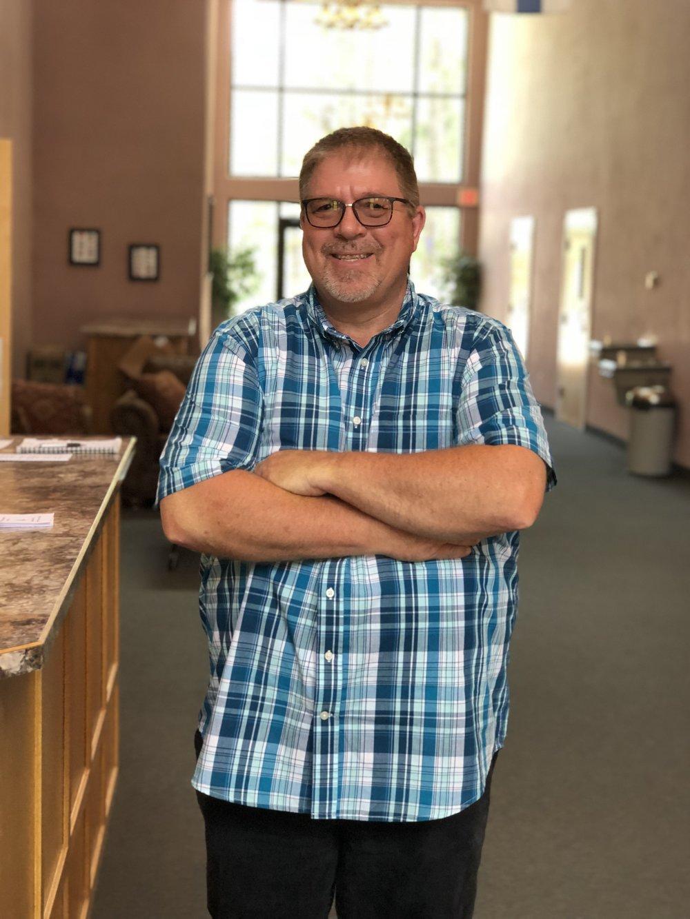 Rick Drury - Lead Pastor