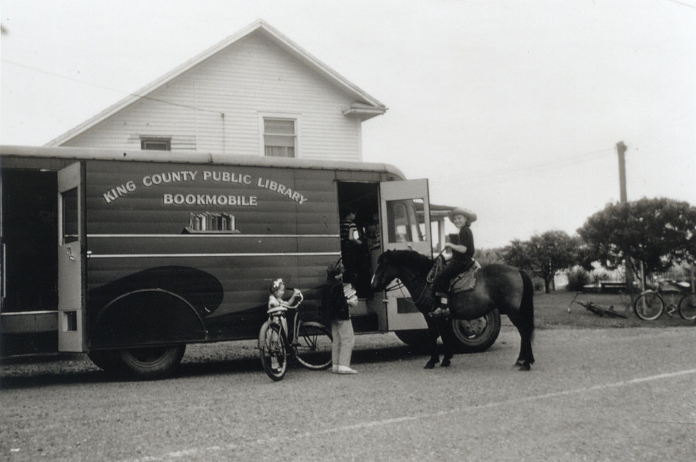 1947 - A second bookmobile, nicknamed