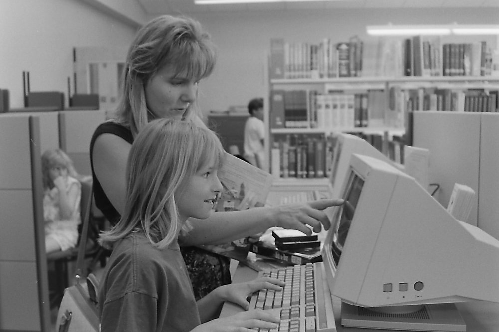 1980 - KCLS adopts a computerized circulation system.