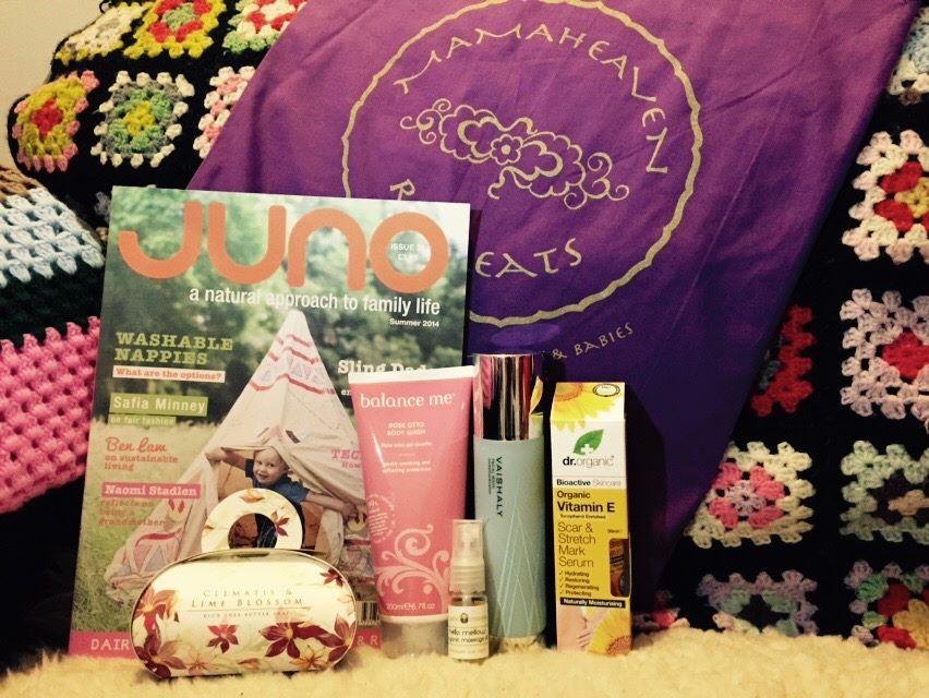 Mamaheaven goodie bag June 2014.jpg
