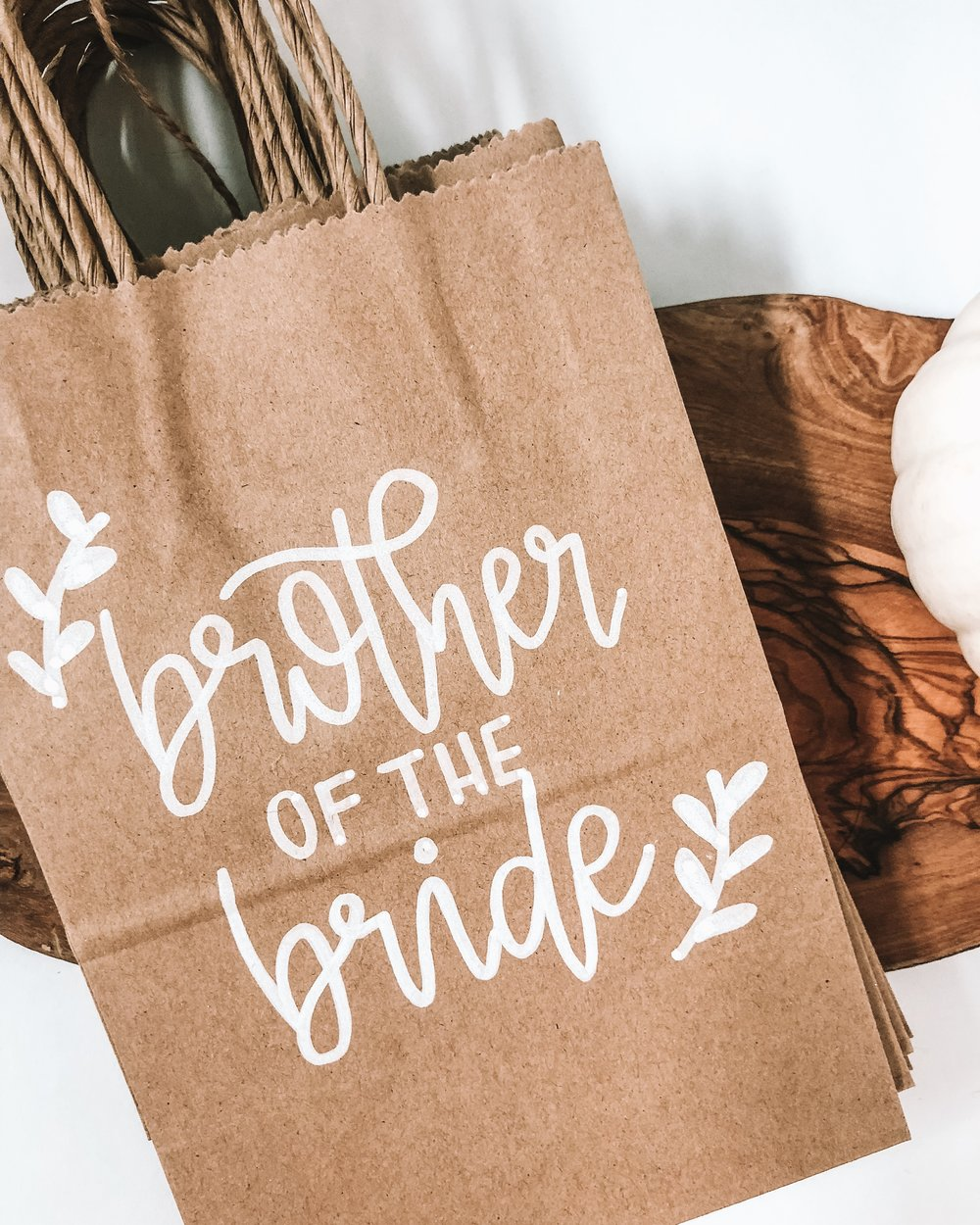 Custom Bridal Party Gift Bags and Wedding welcome party bags