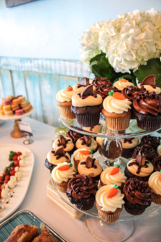 baby sprinkle brunch mini cupcakes