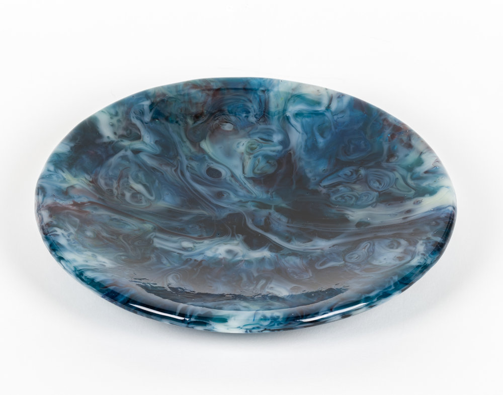 Fused Glass Screenmelt Bowl
