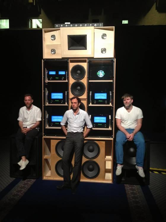 From L to R: Stephen Dewaele, David Dewaele, James Murphy; Image: Ellis Reid, Despacio