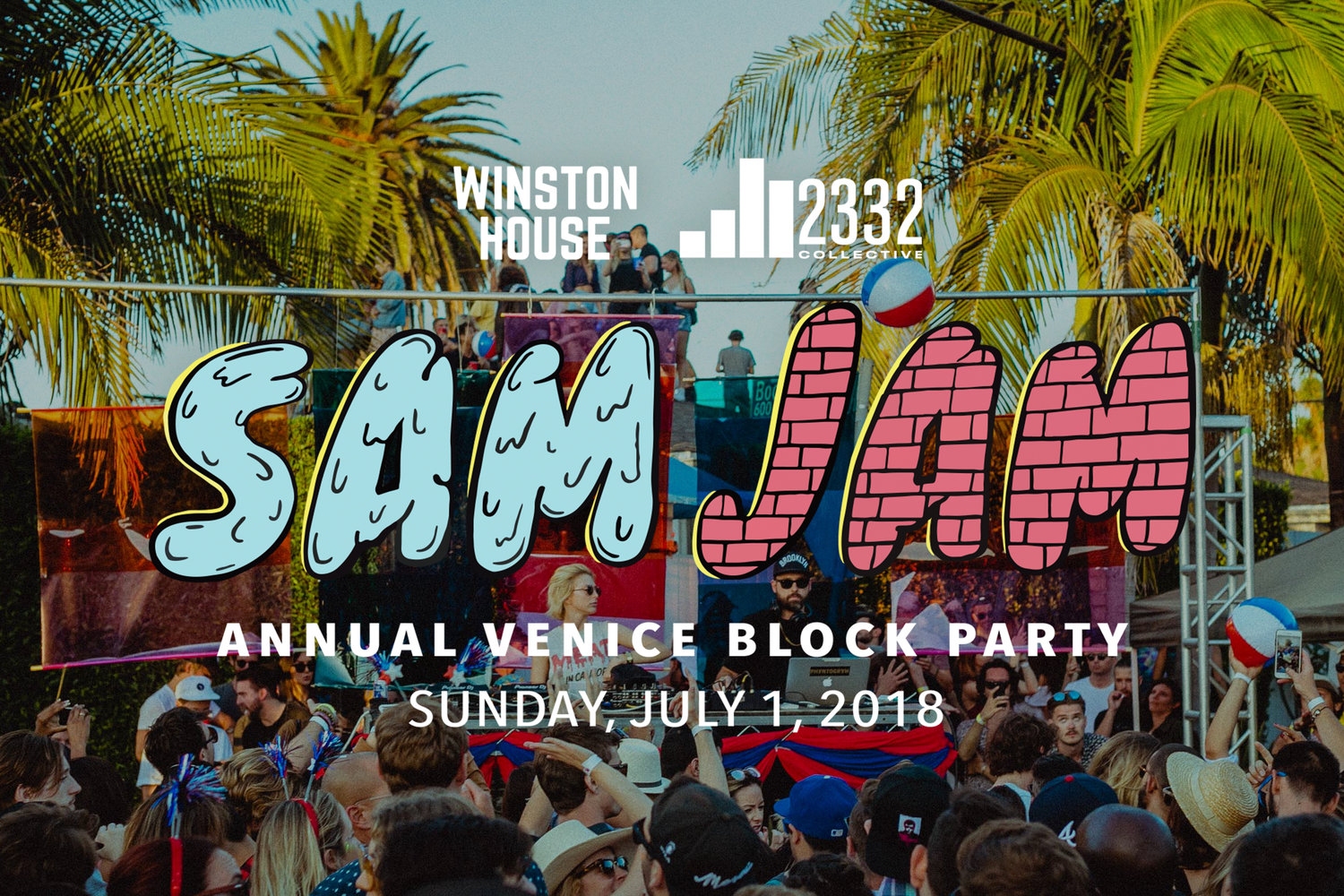 SAMJAM 2018 - Annual Venice Block Party