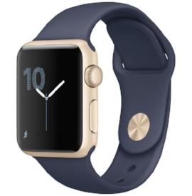 Apple Watch S1, Gold/Blue