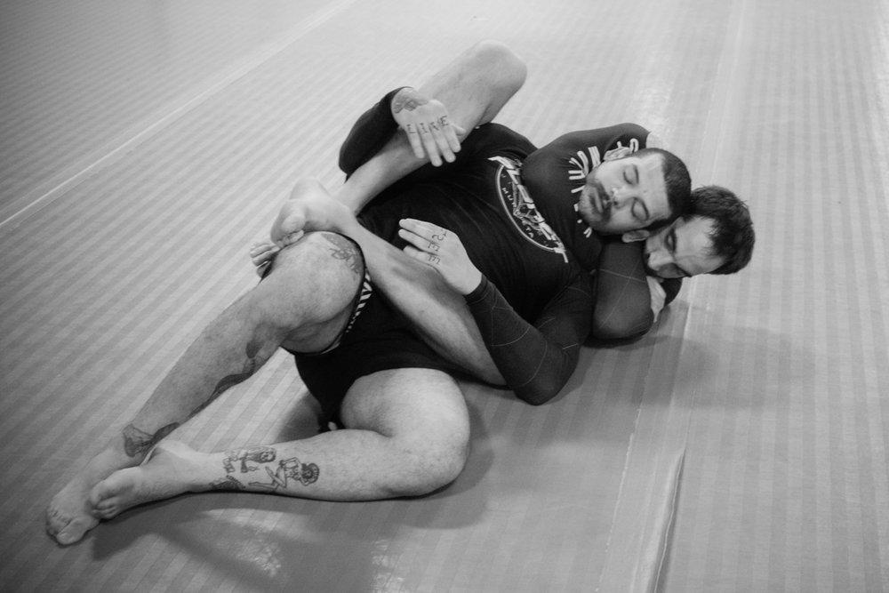 Adults Jiu Jitsu -