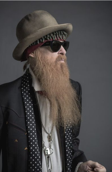 ZZ TOP BILLY SHEEHAN Rocking Our SID V PIN NECKLACE