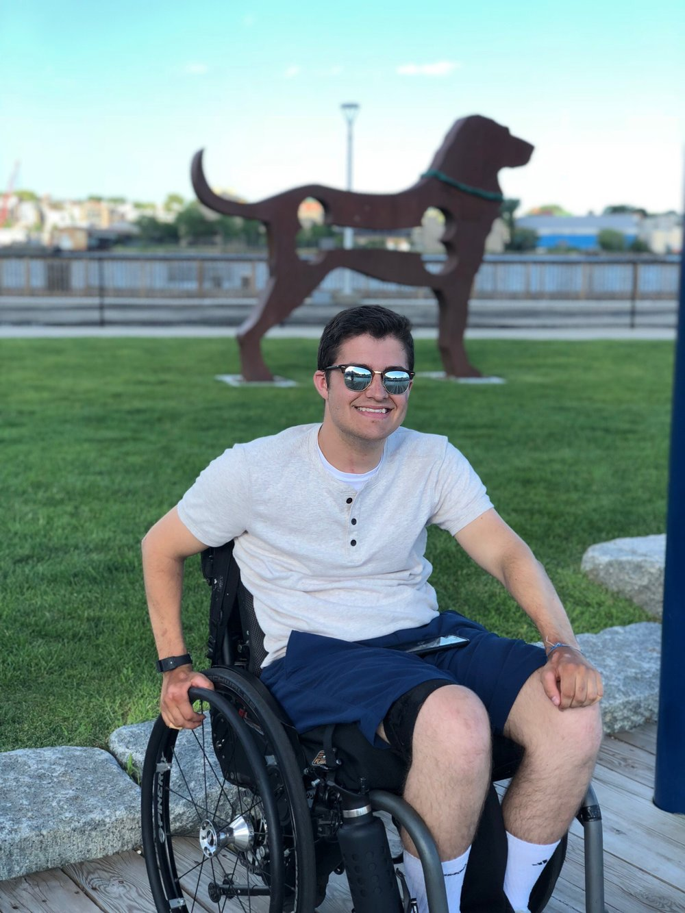 Jack Gerard  C6, Asia A, Quadriplegic  -Injured in 2016  -Since injured I've focused on going back to college, workout out, getting back independence, and spending some time in the office.  -Recreational hobbies include hand-cycling, RC drones, sightseeing, and nature strolls.