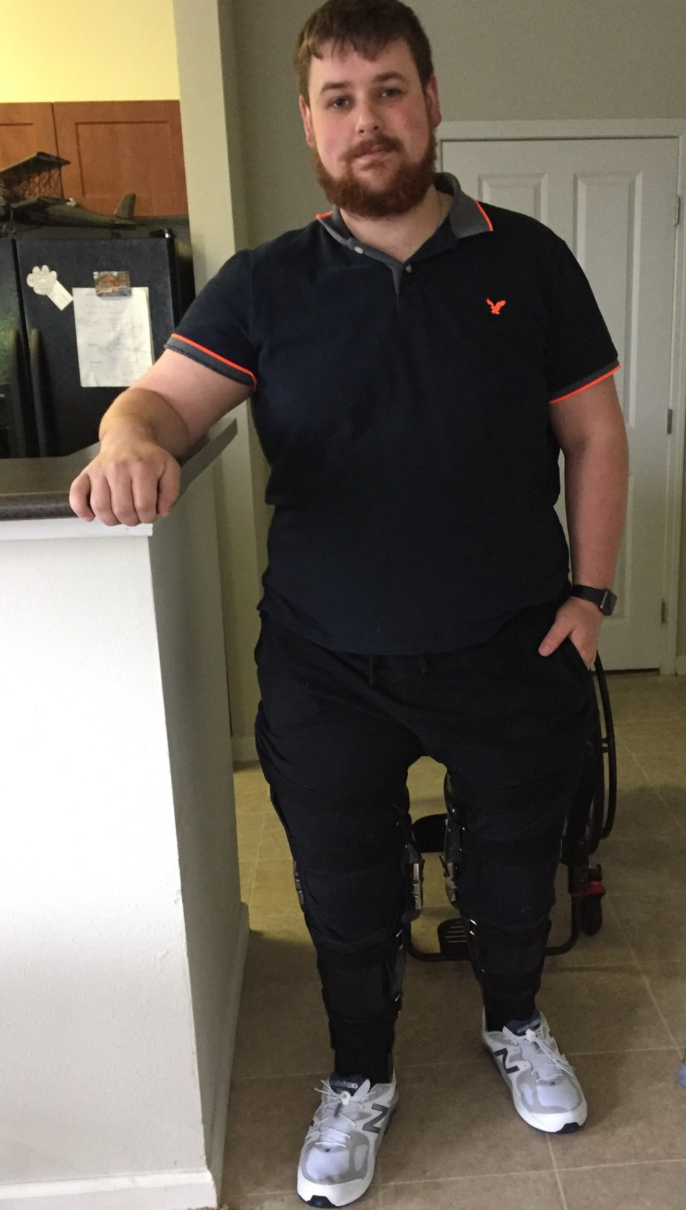 James Donahue  T11, ASIA C, Paraplegic   Enhanced Peer Mentor   -I was injured and 2016  -My hobbies are software development mama firearms clicking, and I am a semi pro video game. I'm also involved officer positions few charity organizations.  -I started working with the GBC in 2018 as an Enhanced Peer Mentor.