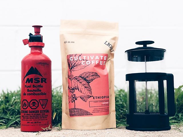 This is the Cultivate hurricane emergency kit! While we don't have gas or french presses for sale, we can definitely get you stocked up on fresh coffee before the storm. We are offering $1 off all our bags of coffee over the next few days before the storm hits. See you soon and stay safe!! #cultivatecoffee #florence #essentials #hurricanehomebrew