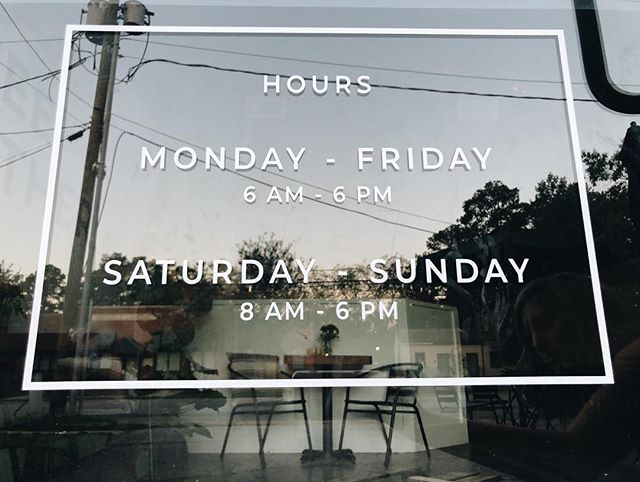 "Monday's aren't so ""Monday"" anymore! We're excited to be caffeinating you seven days a week now 😉☕️ . . . . #Cultivate #caffeinate #coffeelife #newhours #CoffeeTogether #weloveourtown #mondaysbelike #betternow"