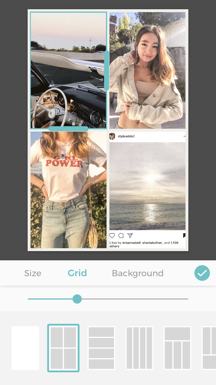How to create an insta collage