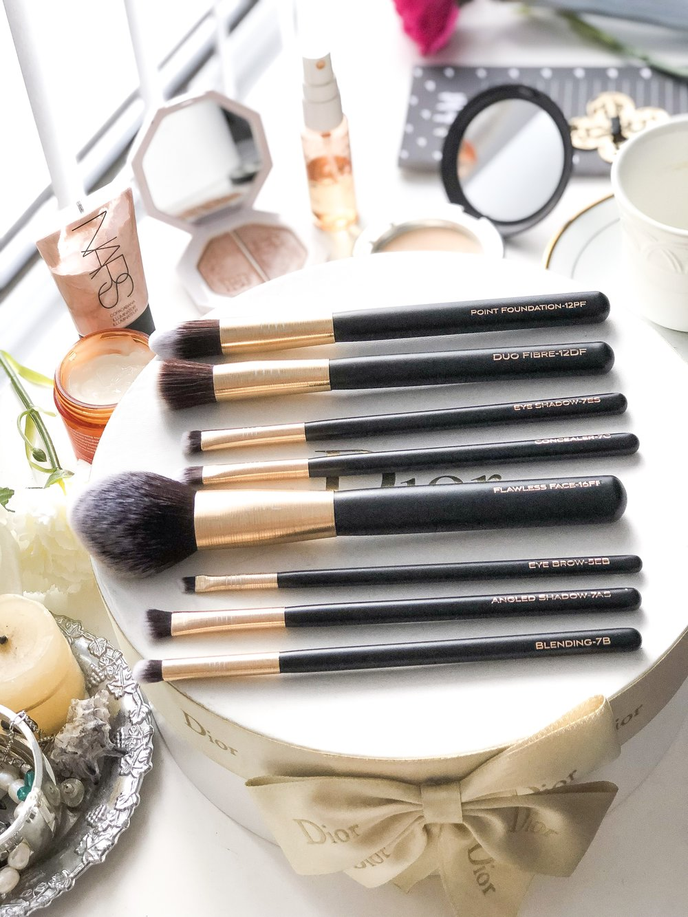 Australian Masey Cosmetics makeup brushes review